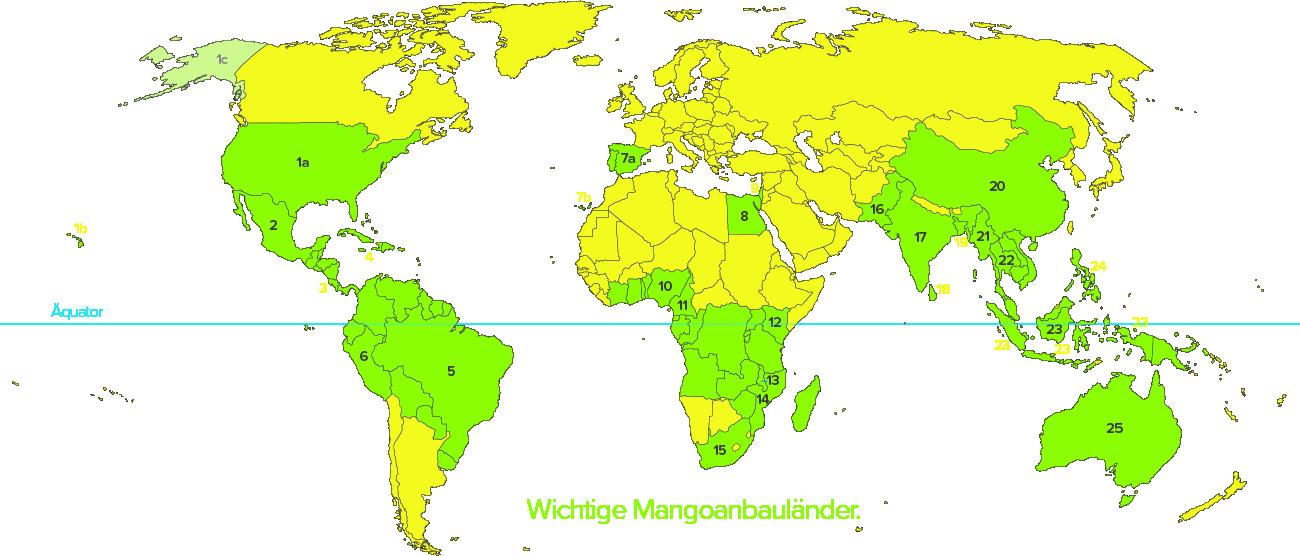 Mangoanbauländer